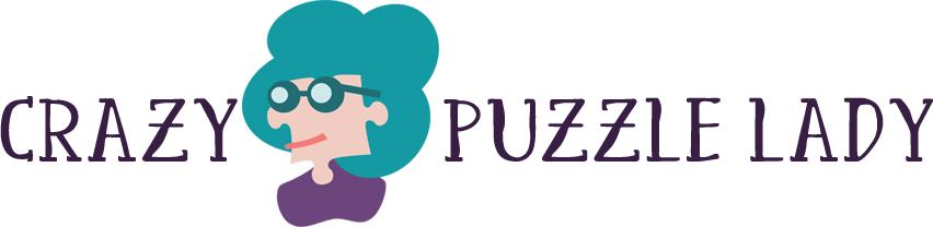 Crazy Puzzle Lady logo